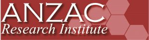 ANZAC Research Institute logo and website link