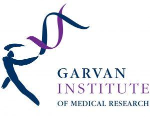 Garvan Institute of Medical Research logo and website link