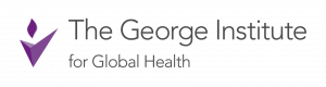 The George Institute logo and website link