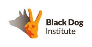 Black Dog Institute logo and website link