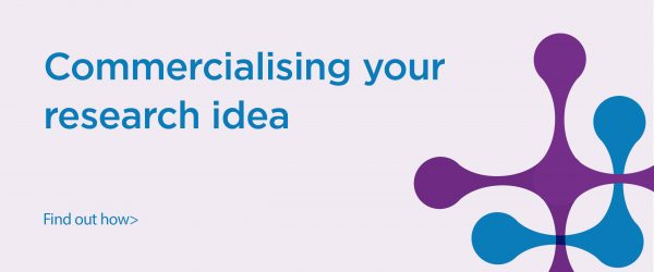 Link to educational resources about commercialising your research idea