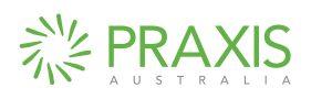 PRAXIS Australia logo